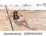 enjoying summer vacation. young ... | Shutterstock . vector #2009424269