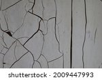 White Wall With Crack  Texture...