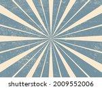 grunge vintage ray background.... | Shutterstock .eps vector #2009552006