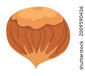 hazelnut  natural healthy... | Shutterstock .eps vector #2009590436