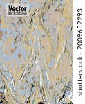 modern design. abstract marble...   Shutterstock .eps vector #2009652293