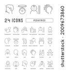 pediatrics. collection of... | Shutterstock .eps vector #2009673860