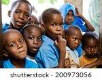 African Children In School....