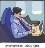 business man character | Shutterstock .eps vector #20097385