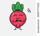 vector illustration of red... | Shutterstock .eps vector #2009777420