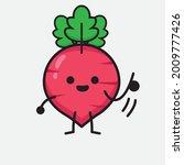 vector illustration of red... | Shutterstock .eps vector #2009777426