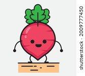 vector illustration of red... | Shutterstock .eps vector #2009777450