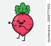 vector illustration of red... | Shutterstock .eps vector #2009777453