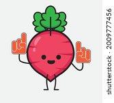vector illustration of red... | Shutterstock .eps vector #2009777456
