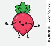 vector illustration of red... | Shutterstock .eps vector #2009777486
