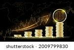bitcoin cryptocurrency digital... | Shutterstock .eps vector #2009799830