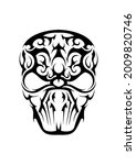 Abstract Human Ethnic Celtic...