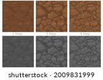 seamless pattern ground with...