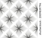 abstract seamless floral linear ... | Shutterstock .eps vector #2009839796