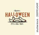 Halloween Nasty Maggot Or Grub...