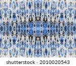 blue abstract mark. stripe hand ...   Shutterstock . vector #2010020543