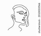 continuous line drawing. trendy ...   Shutterstock .eps vector #2010033566