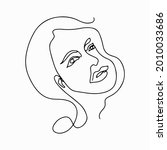 continuous line drawing. trendy ...   Shutterstock .eps vector #2010033686