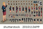 large isometric set of hand and ...   Shutterstock .eps vector #2010113699