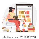 woman girl student character... | Shutterstock .eps vector #2010122960