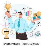 investment money income... | Shutterstock .eps vector #2010125039