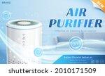 white air purifier machine for...   Shutterstock .eps vector #2010171509