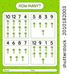 how many counting game with...   Shutterstock .eps vector #2010182003