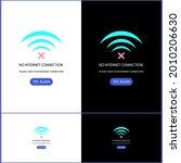 no internet connection design...   Shutterstock .eps vector #2010206630