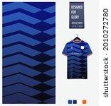 soccer jersey pattern design.... | Shutterstock .eps vector #2010272780