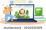 free course of studying ecology ...   Shutterstock .eps vector #2010320309