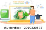free course of studying ecology ...   Shutterstock .eps vector #2010320573