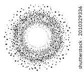 dot round background. halftone...   Shutterstock .eps vector #2010329336