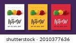 autumn sale banner background...   Shutterstock .eps vector #2010377636