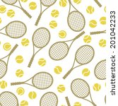 sports seamless pattern with... | Shutterstock .eps vector #201042233