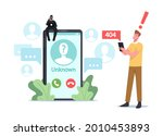 cheater prank or scam activity... | Shutterstock .eps vector #2010453893