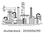petrochemical industry...   Shutterstock .eps vector #2010456290