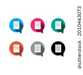 resume id logo vector template