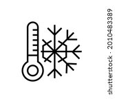 snow drifts icon. nature...   Shutterstock .eps vector #2010483389
