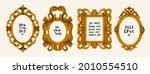 decorative frames or borders...   Shutterstock .eps vector #2010554510