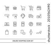 online shopping illustration... | Shutterstock .eps vector #2010562490