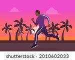 guy or man in sportswear... | Shutterstock .eps vector #2010602033