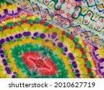 tie dye line gradient patchwork....   Shutterstock . vector #2010627719