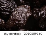 prunes close up. fruit...   Shutterstock . vector #2010659360