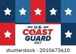 u.s. coast guard day in united...   Shutterstock .eps vector #2010673610