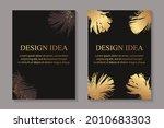 modern luxury card templates...   Shutterstock .eps vector #2010683303