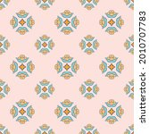 fabric repeat pattern  seamless ... | Shutterstock .eps vector #2010707783