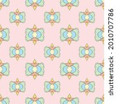 fabric repeat pattern  seamless ... | Shutterstock .eps vector #2010707786