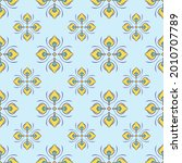 fabric repeat pattern  seamless ... | Shutterstock .eps vector #2010707789