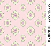 fabric repeat pattern  seamless ... | Shutterstock .eps vector #2010707810