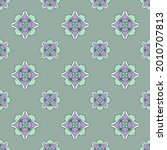 fabric repeat pattern  seamless ... | Shutterstock .eps vector #2010707813